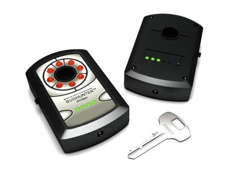 Infrared spy camera scanner finds hidden cameras