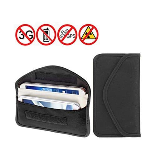 Anti tracking smartphone bag