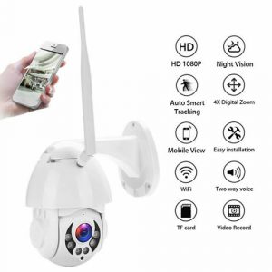 wireless outdoor cctv camera control from your phone