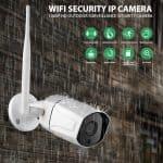 waterproof CCTV zoom camera