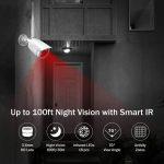 bight night vision Professional wireless CCTV long-range illumination