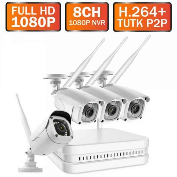 Professional wireless CCTV