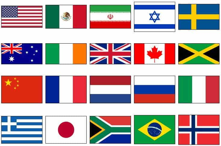 world wide flags global gps tracking