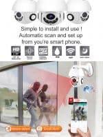 wireless outdoor cctv movement detection