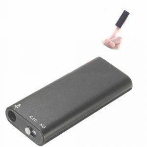 Tiny spy voice recorder for audio