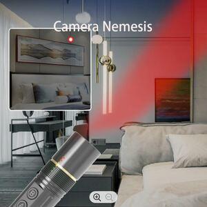 Laser pointer spy camera detector