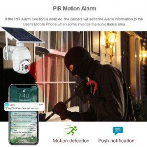 security camera solar powered ptz