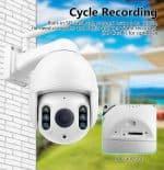 CCTV camera SD storage